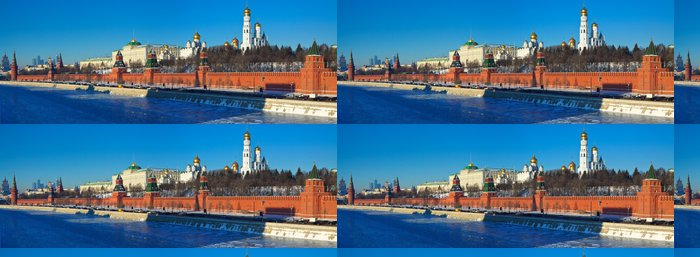 Vinylová Tapeta Panorama moskevském Kremlu v winte - Asijská města