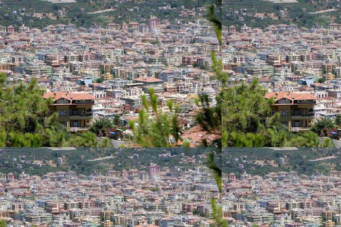 Tapeta Pixerstick Panorama of Golden Horn zálivu, Bospor v Istanbulu v Turecku - Afrika