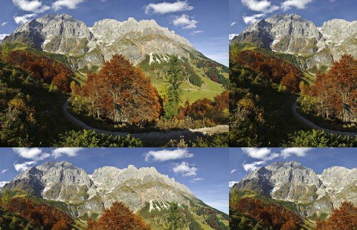 Tapeta Pixerstick Panorama vom Hochkönig in den österreichischen Alpen.Salzburg. - Evropa