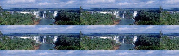 Vinylová Tapeta Panoramatický pohled na Iguasu pády - Amerika