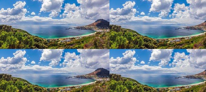 Tapeta Pixerstick Panoramatický pohled na Kapského - Afrika