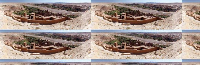 Tapeta Pixerstick Panoramatický přehled vesnice Ait Benadu v Maroku - Afrika