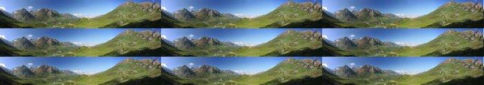 Tapeta Pixerstick Panoramique Col du Tourmalet - Pyrénées - Outdoorové sporty