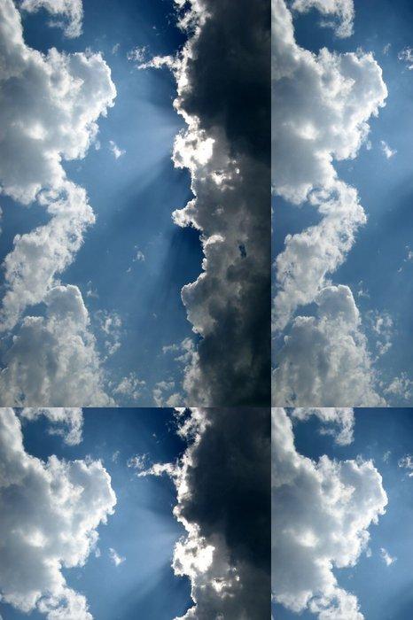 Tapeta Pixerstick Paprsky světla - Nebe