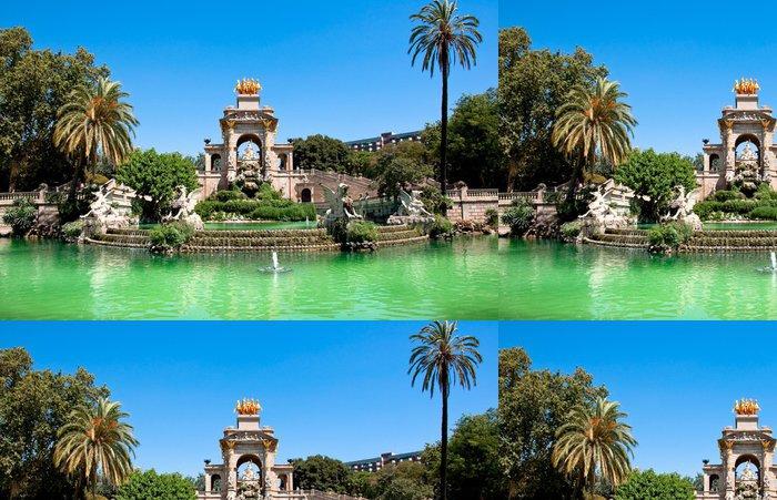 Tapeta Pixerstick Parc de la Ciutadella. Barcelona. - Témata