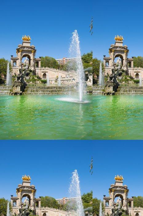 Tapeta Pixerstick Parc de la Ciutadella v Barceloně - Témata