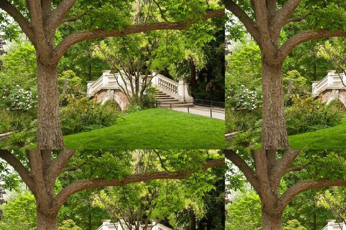Vinylová Tapeta Parc Monceau v Paříži - Outdoorové sporty