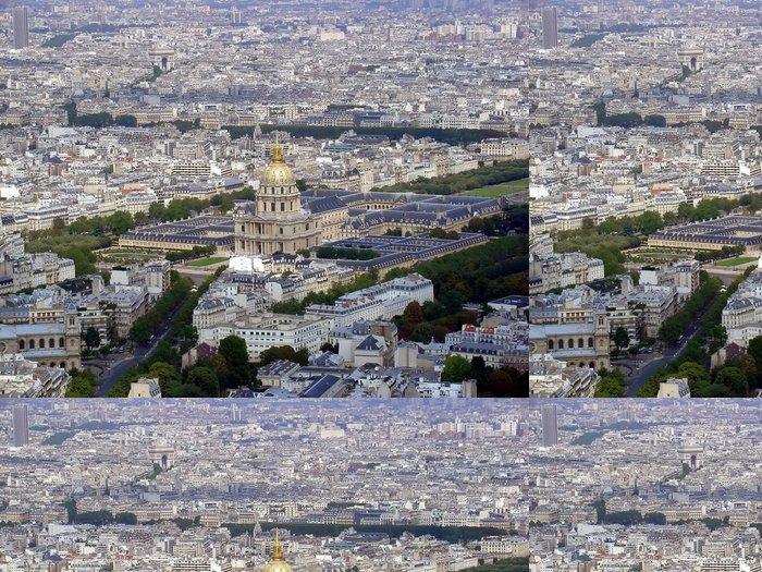 Tapeta Pixerstick Paris panoráma - Evropská města