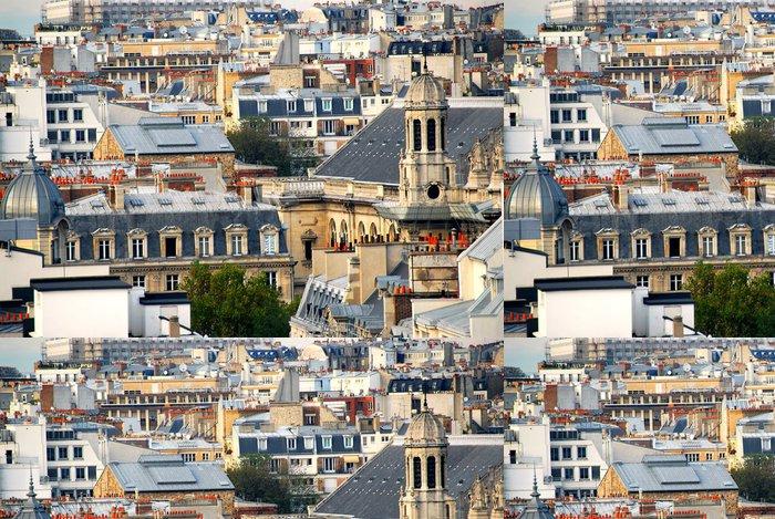 Tapeta Pixerstick Paris střechy - Město