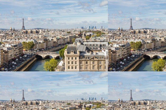 Tapeta Pixerstick Paris vidět z vrcholu Notre Dame - Témata