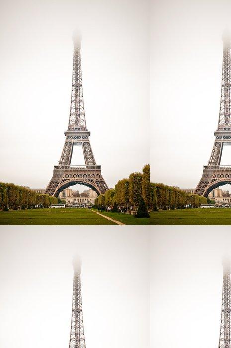 Tapeta Pixerstick Paříž, krásné Eiffelova věž. Žába - Památky
