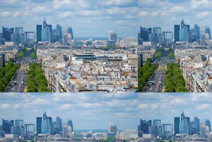 Tapeta Pixerstick Paříž. Obrana - Evropská města