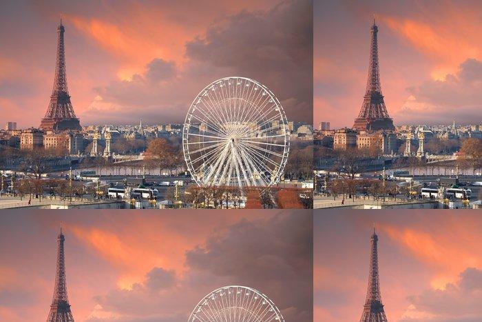 Tapeta Pixerstick Paříž pod Skyscape thundery - Témata