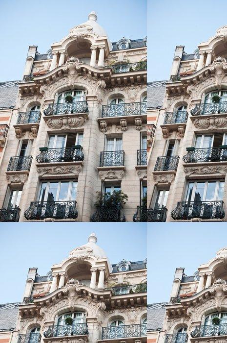 Tapeta Pixerstick Pařížský luxusní stavba - Evropská města