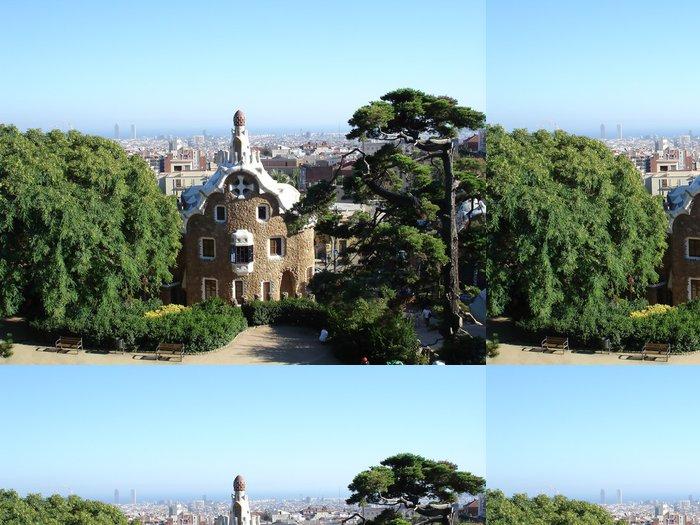 Tapeta Pixerstick Park Guel v Barcelona - Evropa
