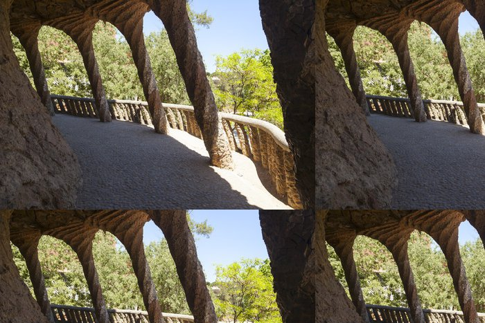 Vinylová Tapeta Park Güell detail - Evropská města