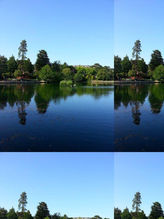 Tapeta Pixerstick Park Lake - Prázdniny
