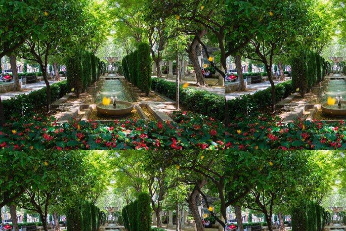 Vinylová Tapeta Park s fontánou - Evropa