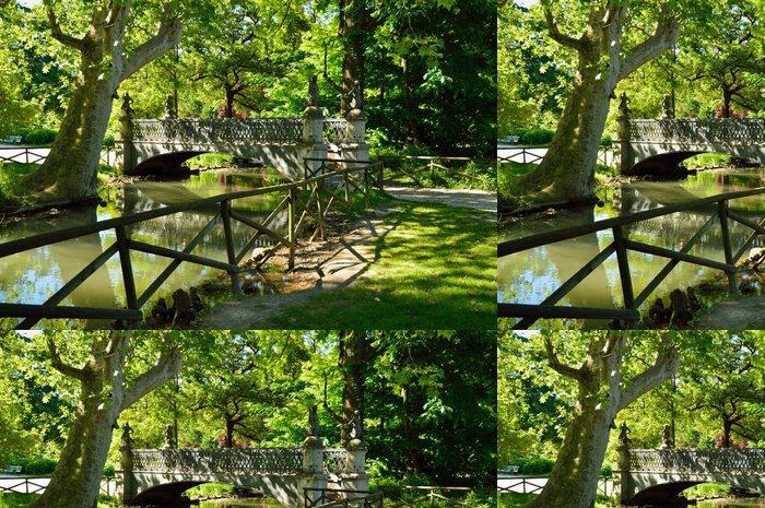 Tapeta Pixerstick Park v Miláně - Evropa