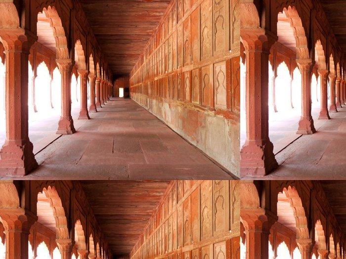 Tapeta Pixerstick Pasáž v areálu Taj Mahal v Agra, Indie - Témata