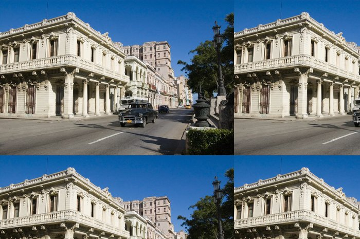 Tapeta Pixerstick Paseo Prado, Havana, Kuba - Témata
