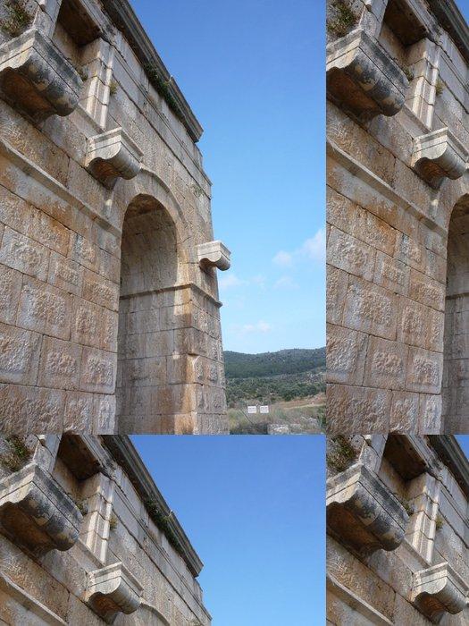 Tapeta Pixerstick Patara kamenná brána v Turecku - Památky