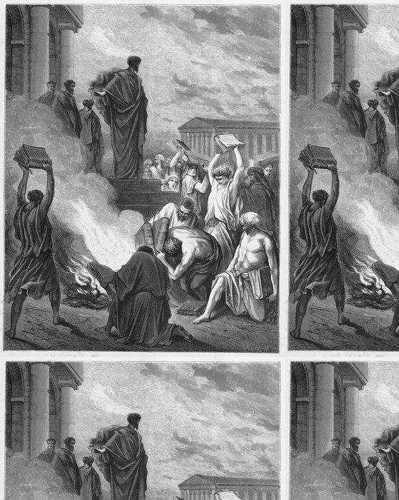 Tapeta Pixerstick Pavel káže v Efezu - Náboženství