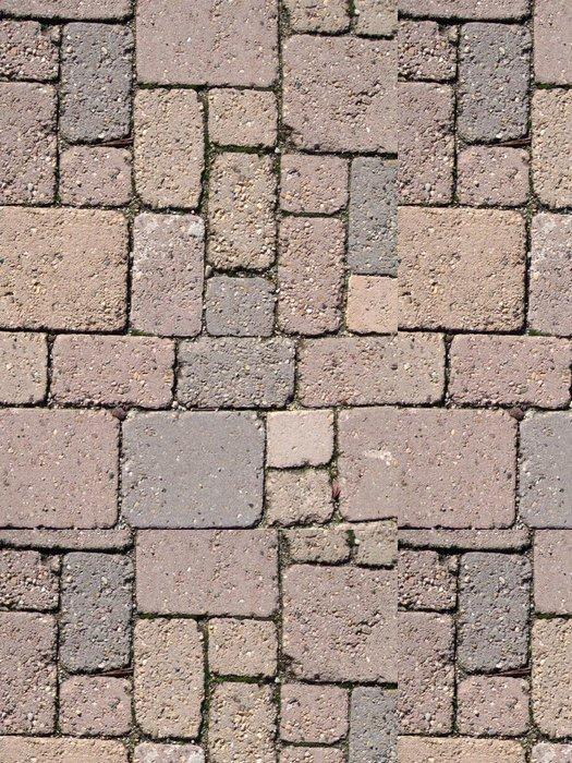 Tapeta Pixerstick Pavimentazione v autobloccanti - Struktury