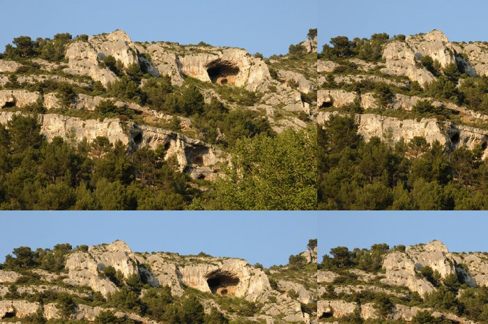 Tapeta Pixerstick Paysage à Fontaine de Vaucluse-en-Provence - Prázdniny
