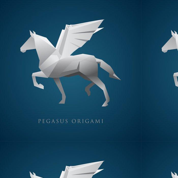 Tapeta Pixerstick Pegasus Logo - Imaginární zvířata