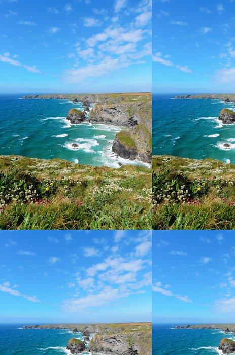 Tapeta Pixerstick Pendarves Island v Bedruthan Steps - Voda