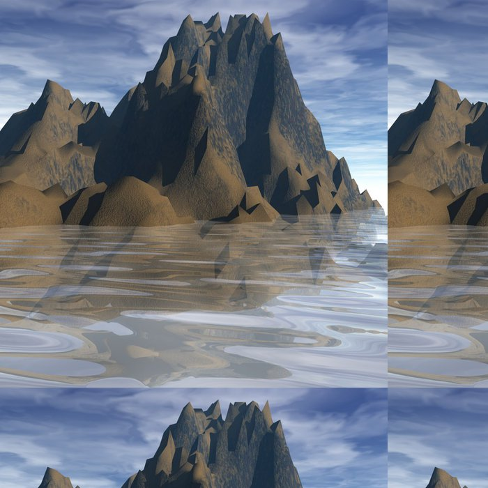 Tapeta Pixerstick Perfektní Nature - Voda