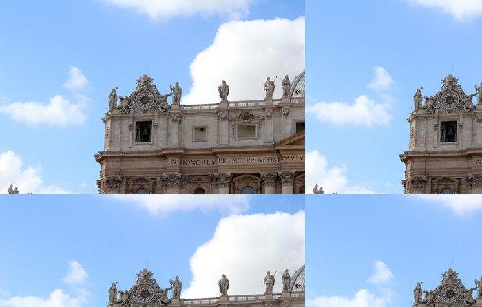 Tapeta Pixerstick Peters bazilika St, Řím - Evropská města