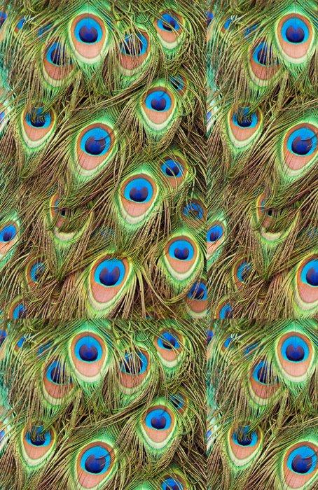 Tapeta Pixerstick Pfauenfedern 2 - Ptáci