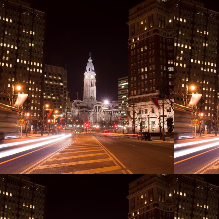 Tapeta Pixerstick Philadelphia City Hall - Amerika