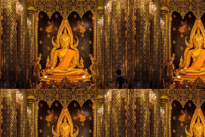Tapeta Pixerstick Phra Buddha Chinnarat na Phra Si Rattana Mahathat chrámu - Náboženství