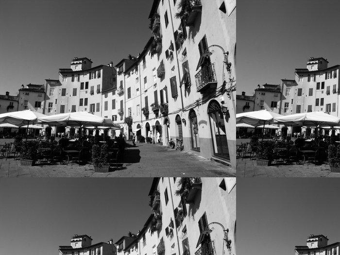 Tapeta Pixerstick Piazza Anfiteatro, Lucca - Evropa