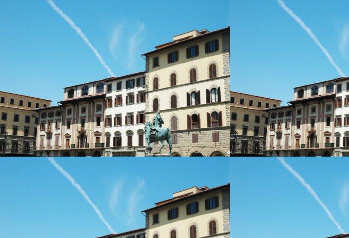 Tapeta Pixerstick Piazza della SS. Annunziata, Florencie, Itálie - Evropa