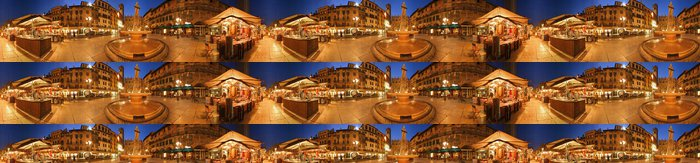 Tapeta Pixerstick Piazza Erbe Verona 360 stupňů - Prázdniny
