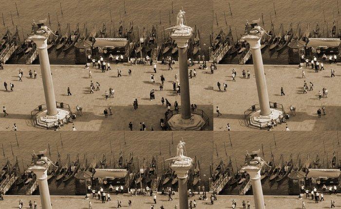 Tapeta Pixerstick Piazzetta v Benátkách - Evropská města