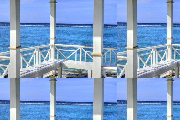 Tapeta Pixerstick Pier v Montego Bay, Jamajka, Karibiku - Amerika