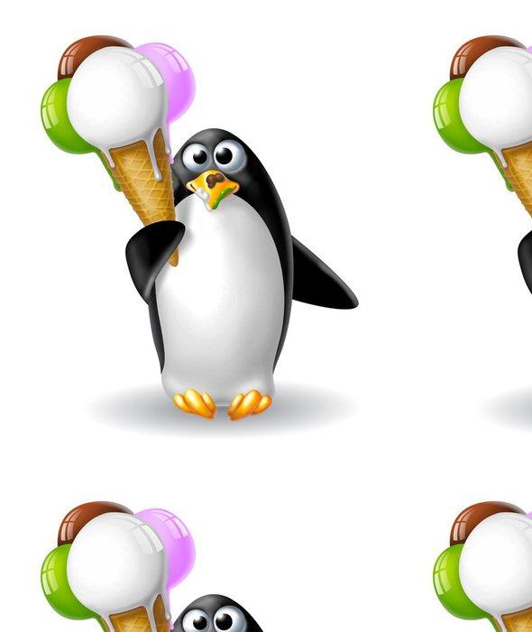 Tapeta Pixerstick Pinguino gelato grande 2 - Sýr a mléčné výrobky