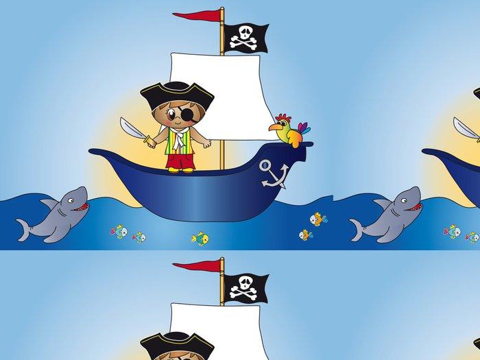 Tapeta Pixerstick Pirát - Osud