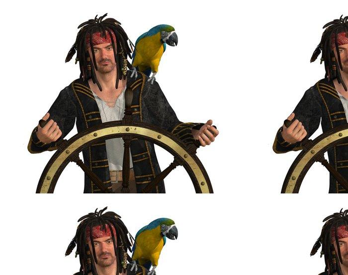 Tapeta Pixerstick Pirate u kapitána Wheel - Značky a symboly
