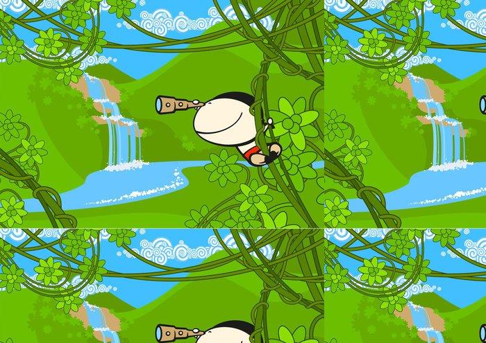 Tapeta Pixerstick Pirate v džungli -