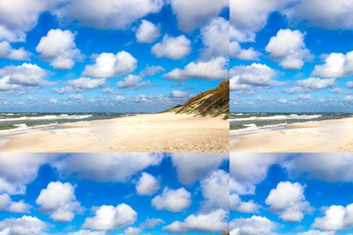 Tapeta Pixerstick Písečná pláž v Baltském moři - Prázdniny