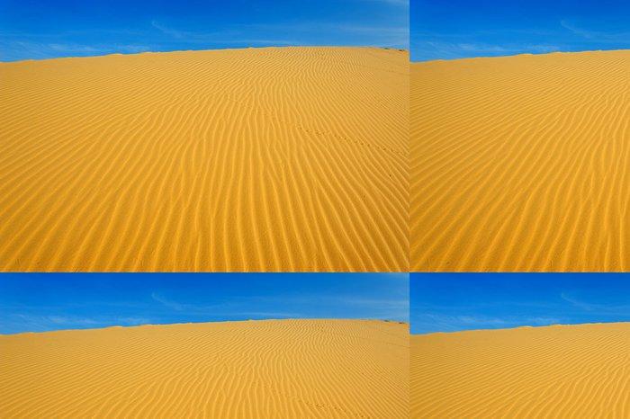 Tapeta Pixerstick Písek vzor na písečná duna - Pouště