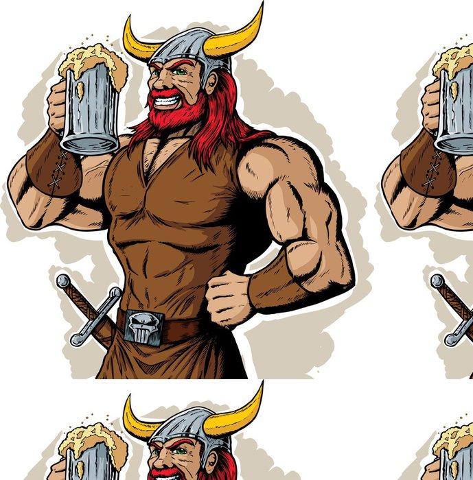 Tapeta Pixerstick Pití Viking - Muži