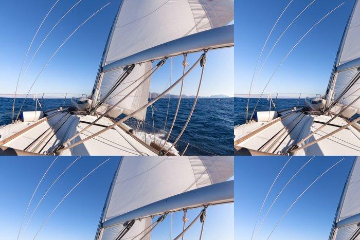 Tapeta Pixerstick Plachetnice široký úhel pohledu v moři - Lodě