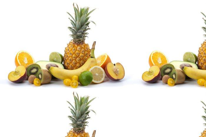 Tapeta Pixerstick Plateau ovoce exotiques - Ovoce